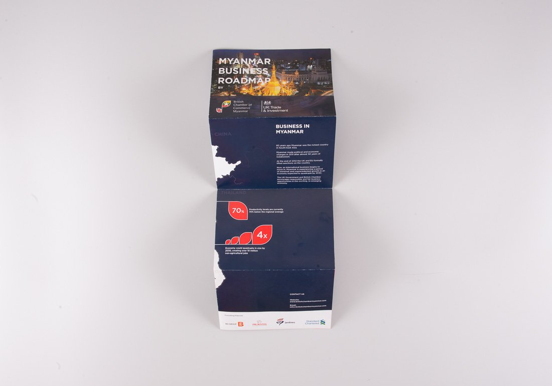 British Chamber of Commerce Brochure folded