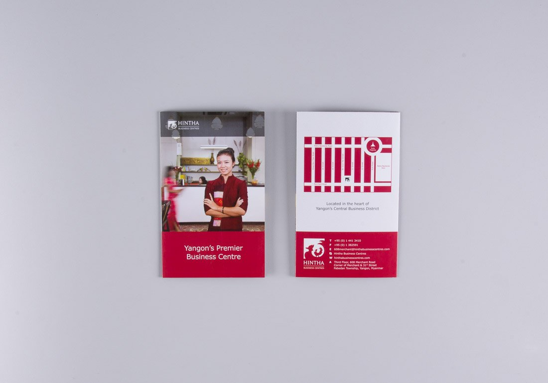 HINTHA trifold front and back