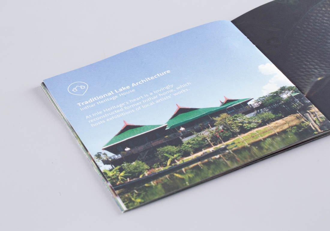 Inle Heritage booklet detail