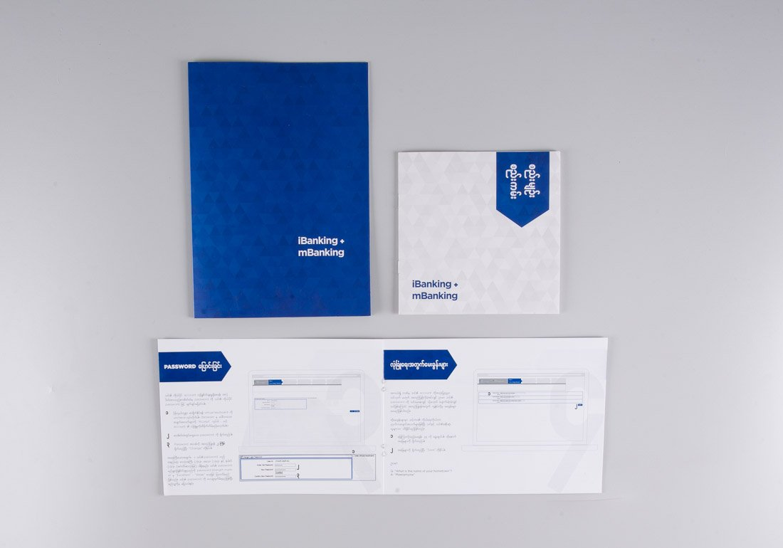 KBZ folder with collateral